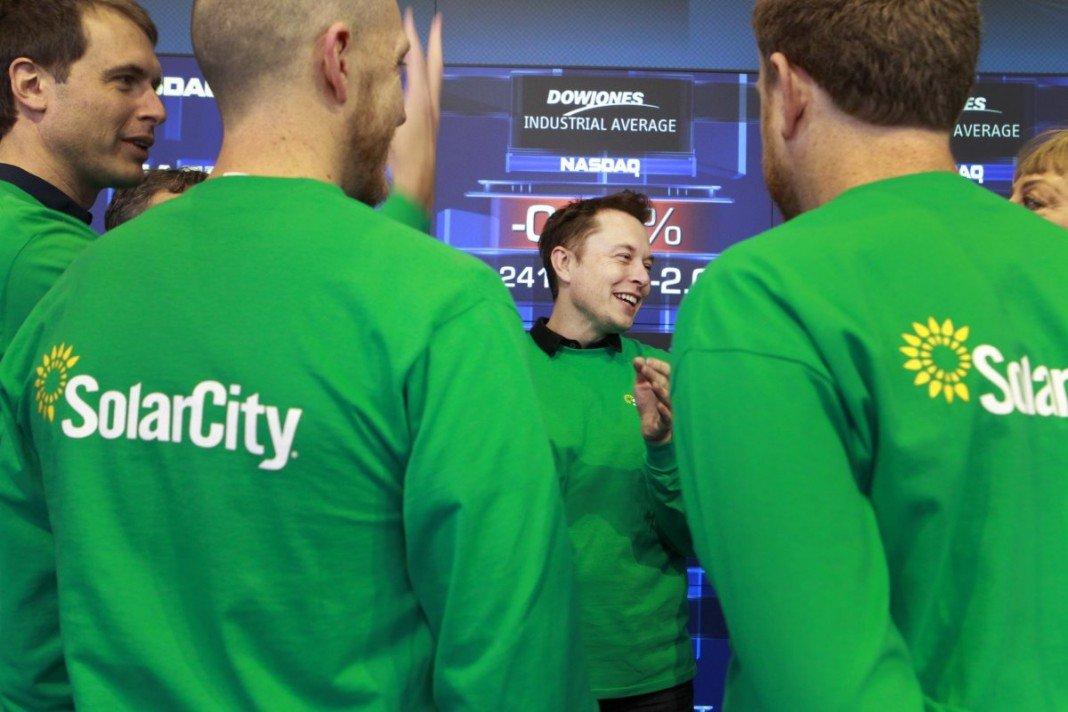 Elon Musk, Président du directoire de Solar City