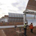 La première tranche de la plus grande centrale solaire du monde est déjà en marche